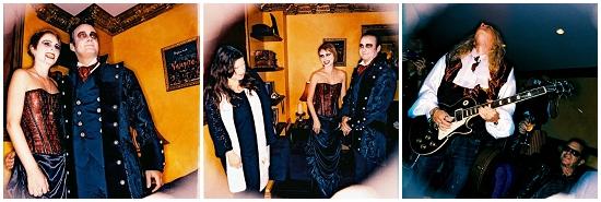 Vampire Wedding on Halloween in Hollywood!