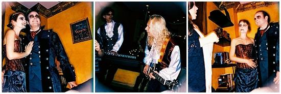 Rockband wedding march!