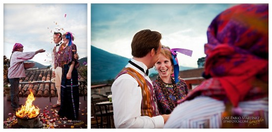 A traditional wedding in Antigua Guatemala