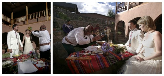 traditional wedding in cusco peru