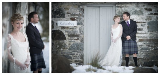 A wedding in Scotland at the Mull of Kintyre