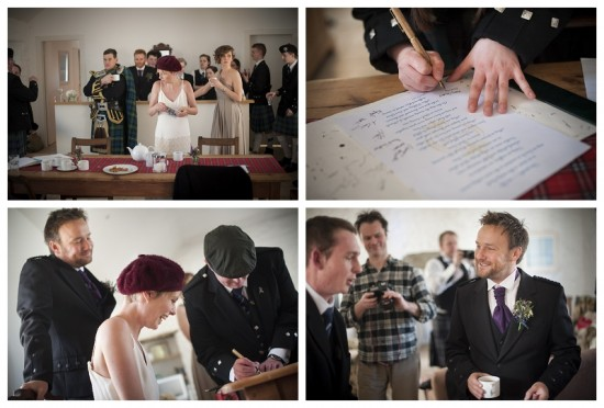 Mull of Kintyre wedding