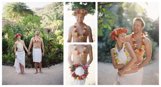 tahitian wedding flowers