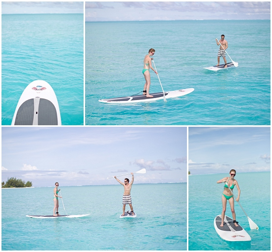 Paddle boarding for starters!