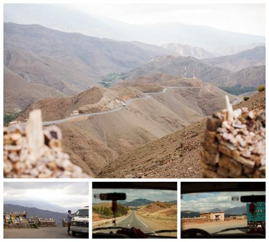 The long road through the Atlas mountains!