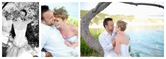 At the beach...wedding in Aix en Provence