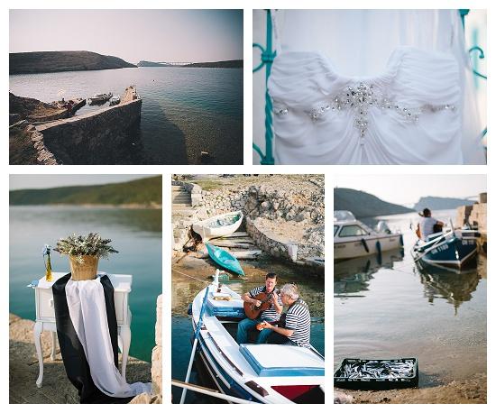 Pier wedding ready