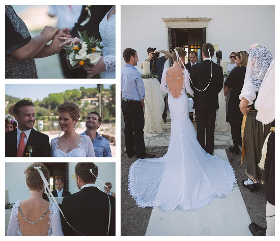 A wedding in Corfu, greece