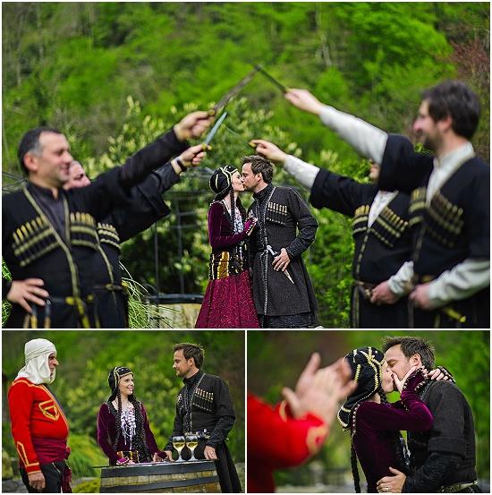 The wedding in Batumi