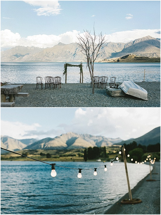 Wedding arch Queenstown