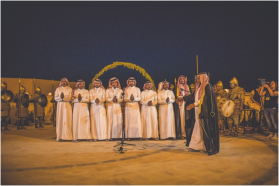 traditional singers entertain the wedding guests